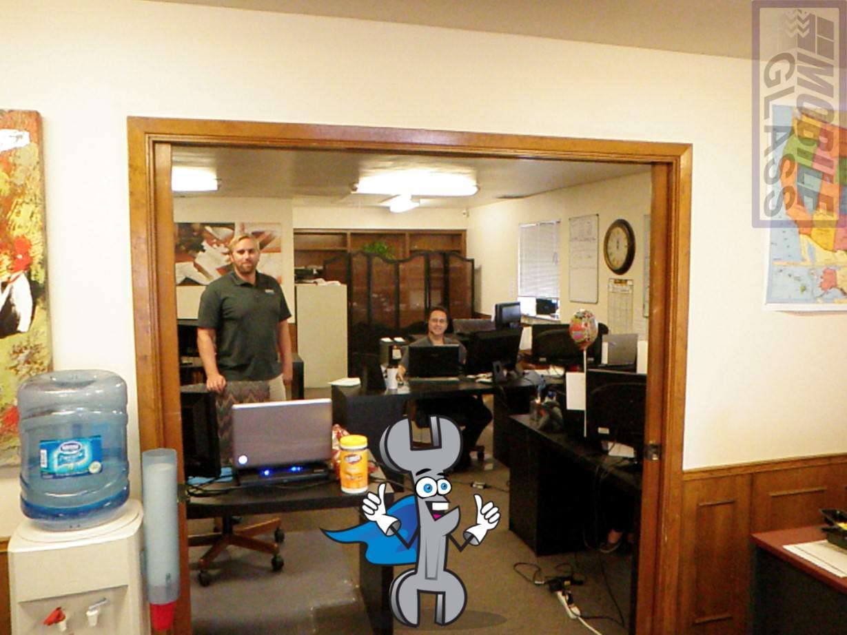 Austin Mobile Glass Inside The Office