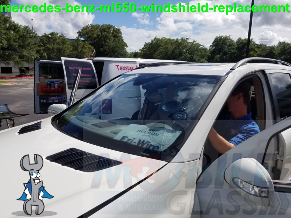 Windshield replacement in west lake hills by mobile glass for Mercedes benz glass replacement