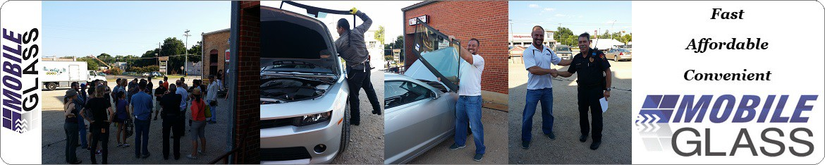 Mobile Glass Provides Charity Windshield Replacement in Austin for NHTSA Drunk Driving Awareness Commercial