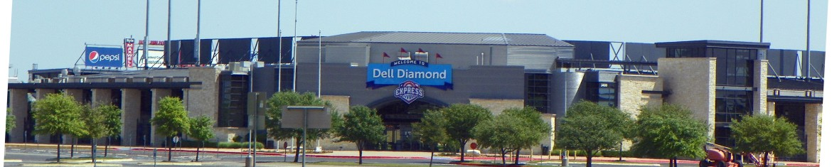 Dell Diamond Baseball Stadium in Round Rock