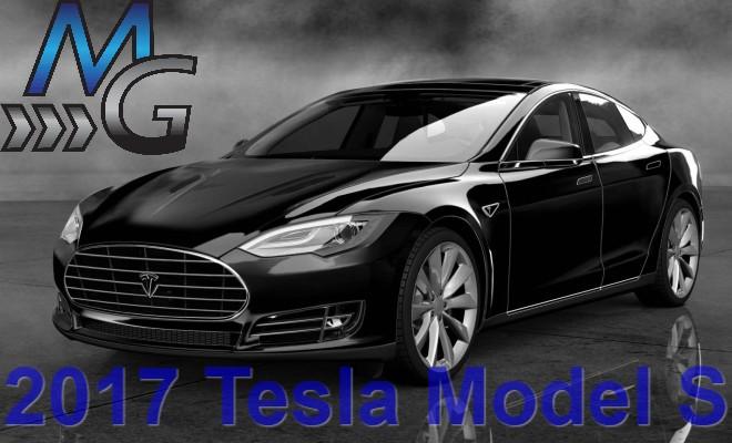 2017 Tesla Model S (Black)